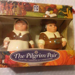 Vintage The Pilgrim Salt and Pepper Shakers